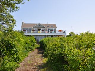 Montauk house photo - View of the house from the beach
