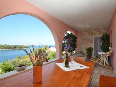 image for Vacation apartments at the Fani house on beautiful south-west side of the island