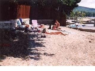 Newfound Lake house photo - Beautiful Beach on Lake with White Sand on the Bay