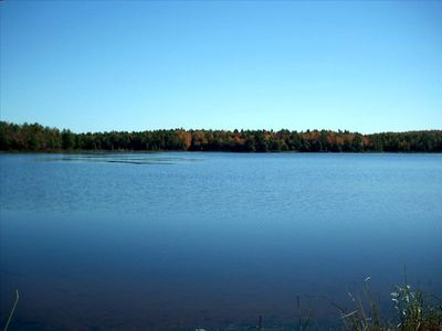 77 Acre Spring fed Pinecrest Lake with Private Beach