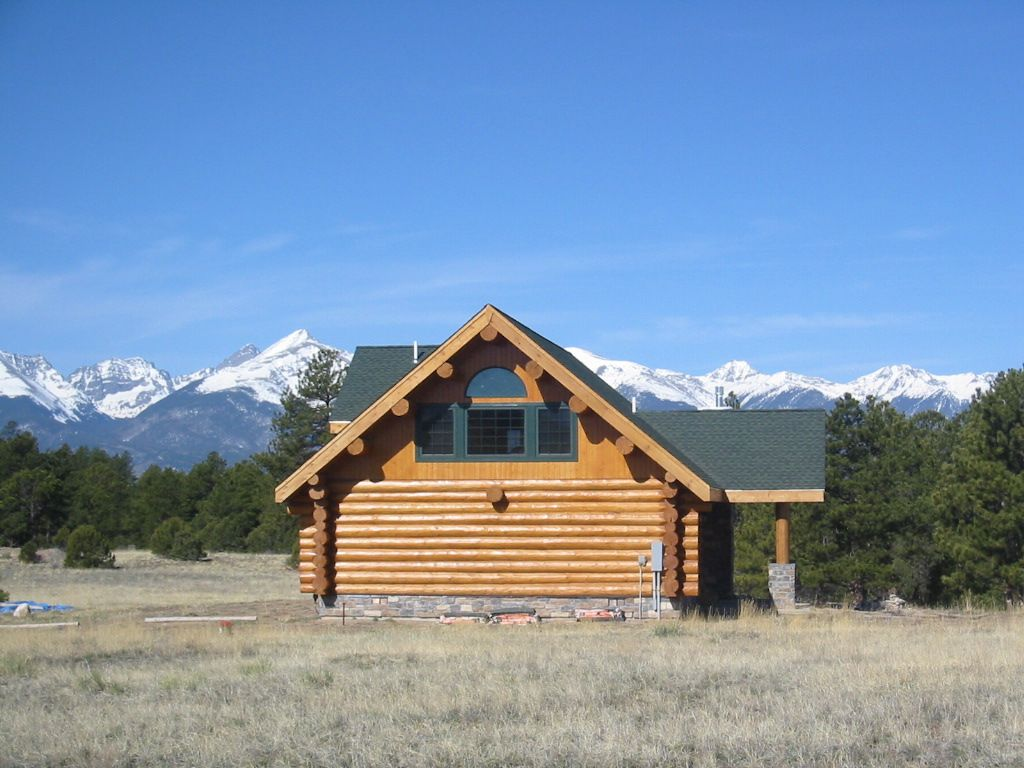 Gorgeous log home mountain views read our reviews 3 br for Vacation colorado cabins