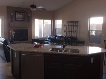 Views of Family room sitting area!