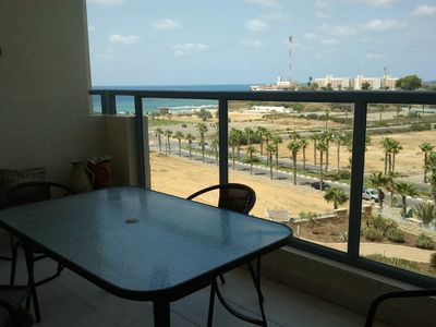 Tel Aviv apartment rental - Beautiful Ocean View Balcony