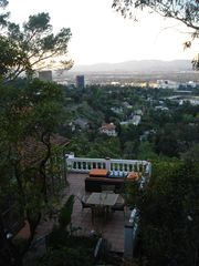 Hollywood house photo - Privacy on the terrace surronded by Eucalyptus Trees