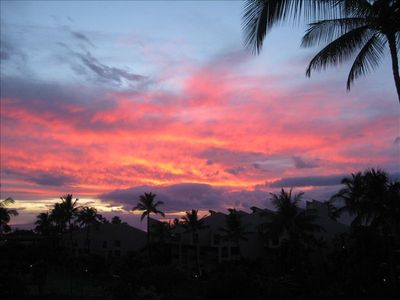 Sunset out of 5-404 lanani in June of 2011.