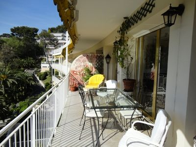4 room apartment with sea view terrace and pool