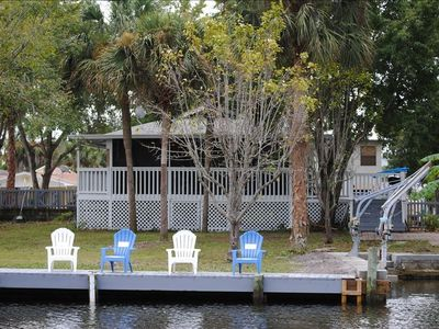 Crystal River house rental - Private Dock & Backyard