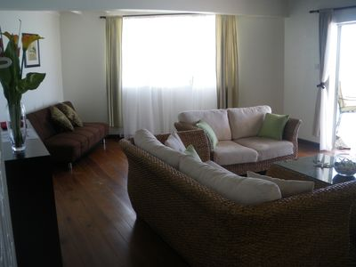 Another view of the sitting room in Sea Front Apt