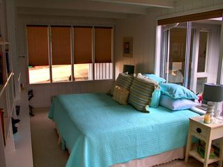 Pacific Grove house photo - Third bedroom / Den set up as king