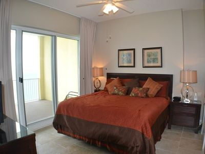 Fabulous gulf front master suite