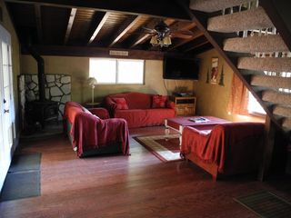 Lake Arrowhead cabin photo - Across from dinning room (open floor plan) is a family room with 2 sofa sleepers