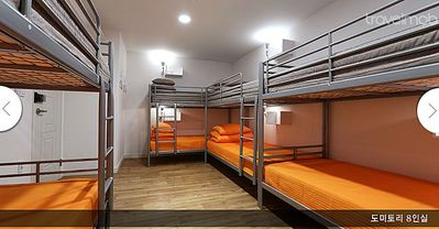 Female Dorm. 8 bed@ Busan Nampo
