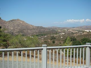 Never ending view from master suite deck - Temecula house vacation rental photo
