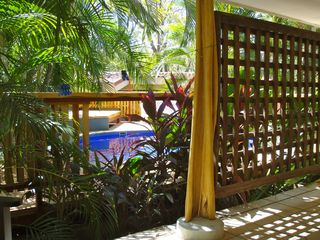Tamarindo studio photo - View of pool from 'Blue' patio.