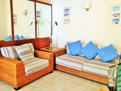 Holiday apartment in Monte Gordo center 5min from the beach w / Air Conditioning