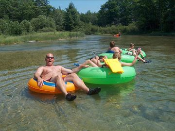 Tubing on the Platte River