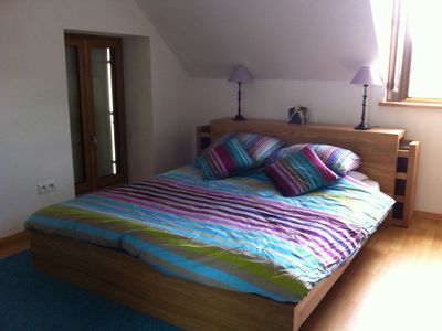 Saint-Malo-en-Donziois farmhouse rental - Bedroom 4