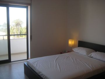 2nd Double Bedroom with Balcony and Sea View