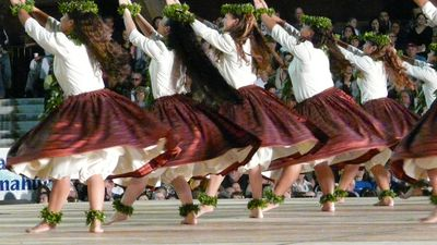 Merrie Monarch Competition in April every year