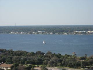 Daytona Beach condo photo - See the Ocean AND the Intercoastal Waterway BOTH
