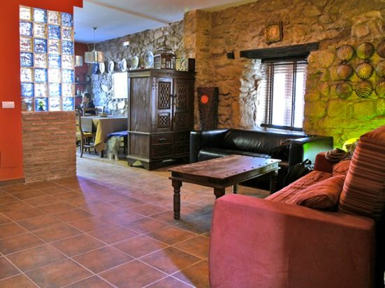 Self catering Solaz del Ambroz for 12 people
