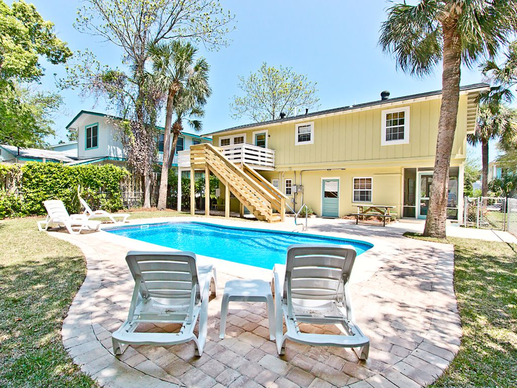 Beautiful Tybee Cottage With Heated Pool Vrbo