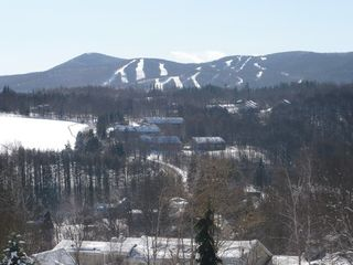 Mount Snow house photo - This famous view is on our road seconds