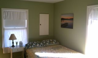 Otter Creek house photo - The second bedroom on the first floor has a full bed that sleeps two.