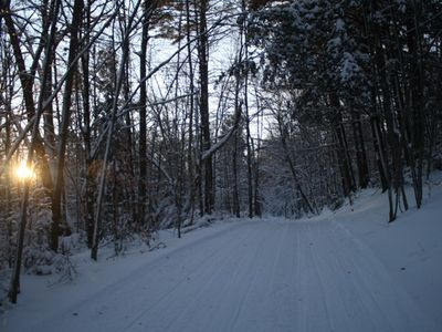 "Winter time on the ""Auskerada Trail"""