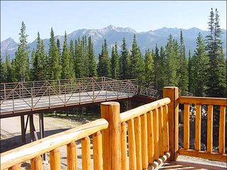 Big Sky townhome photo - Ski Out Access, Spanish Peaks View