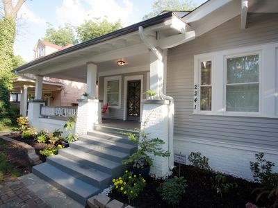 Stunning 3BR, 3BA Bungalow at Overton Square in Midtown Memphis