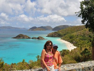 Beautiful Trunk Bay on St John