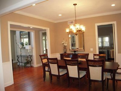Kiawah Island house rental - Main dining room