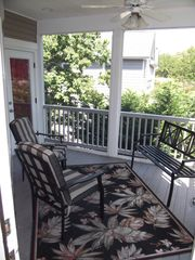 Cape May house photo - 2nd Floor Screened in Porch. Enjoy nice breezes in the evening.