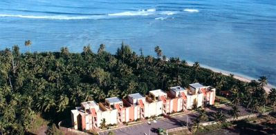 Birds eye view of Punta Bandera (complex)
