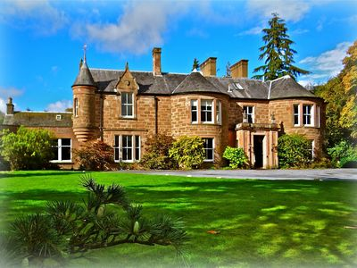 Photo for 15BR Country House / Chateau Vacation Rental in Blairgowrie and Rattray, Scotland
