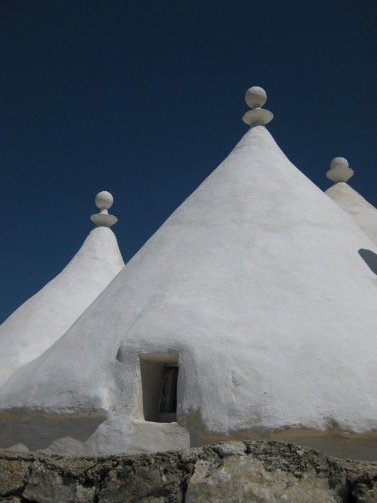 150 year old Trulli Cones