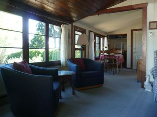 Mercer Island cottage photo - Living room and dining room.
