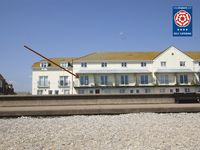 Fantastic sea views of the Jurassic Coast cliffs Family and pet friendly Parking