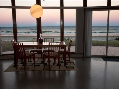 Enjoy The Breathtaking Ocean View During Meals . . .