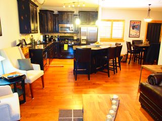 Bear Hollow Village condo photo - View of Kitchen from the Living Room