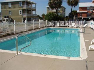 Gulf Shores townhome photo - Pool in the complex---- Lagoon in background