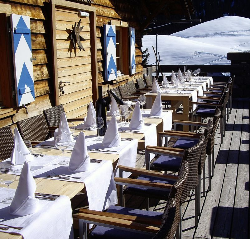 The sun is shining, your table is set