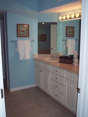 Fort Walton Beach condo photo - Double sink vanity in Master Bath