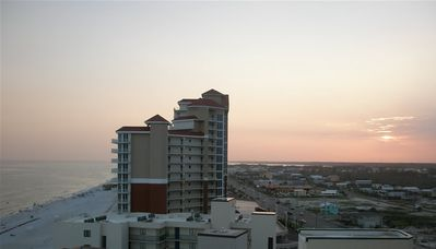 Gulf Shores condo rental - View to the west from the kitchen window