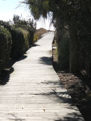 Pathway to the beach!! - Isle of Palms house vacation rental photo