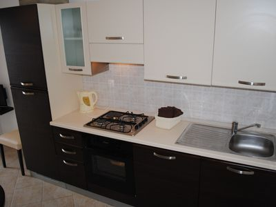 Kitchen in apartment II