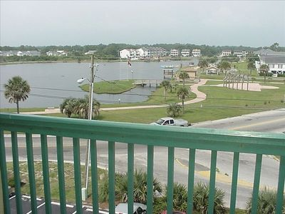 Enjoy the views of the Lake with a picnic area, playground and walking trail