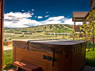 Granby house photo - Private Hot Tub with Ski Resort Views