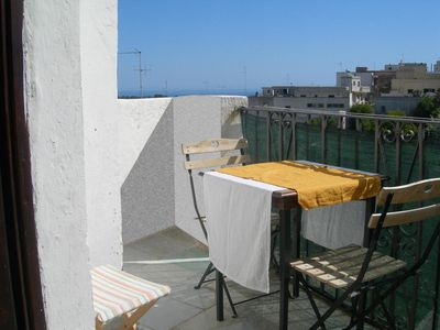 Apartment with view to the seaside in the historical centre